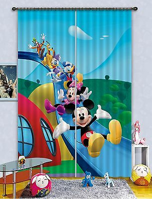 3D Cartoon 893 Blockout Photo Curtain Printing Curtains Drapes Fabric Window CA