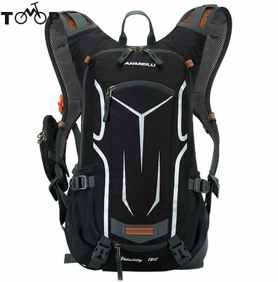 Outdoor Hiking Mountain Bike Bag Hydration Pack Water Backpack, Camping,Foldable