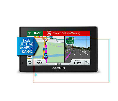 Crystal Clear Screen Protector for Garmin DriveAssist 50LMT