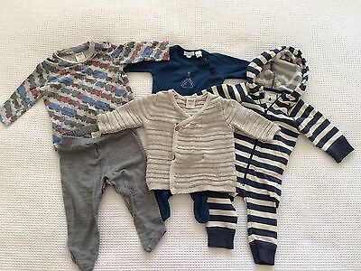 Designer Baby Boy Clothes Bulk Listing 0-3M/000 - Seed, Country Road, Pure Baby