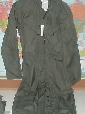 Nwt New Military Army Usaf Air Force Flight Suit Size 38R