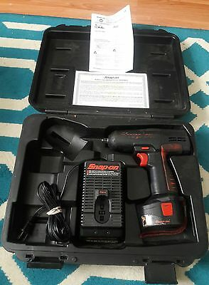 Snap On 3/8 Inch Impact Gun combo Charger,Snap on Drill, Case Manual CT3110