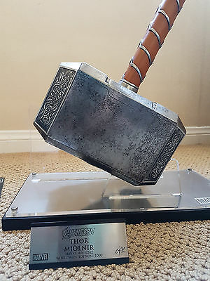 eFx Mjolnir Thor's Hammer Replica Prop Reproduction Marvel Life Sized Toy