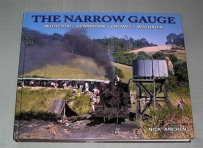 The Narrow Gauge (Vic), by N Anchen, HC book
