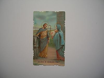 Antique Holy Card of Holy Familly *smaller size*