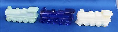 Boyd Special Glass Train Engines 3 in Lot