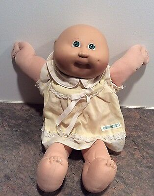 Vintage Cabbage Patch Doll Bald 1984