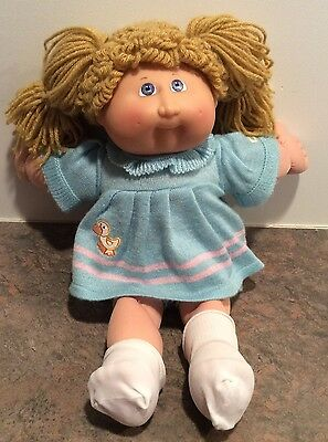 25th Anniversary Cabbage Patch Doll Blonde