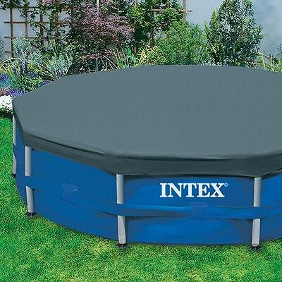 Intex Round Swimming Pool Cover - 15 Feet 15 ft - Free Fast One Day Shipping!