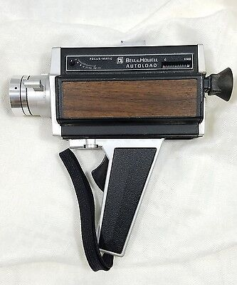 Vintage Bell and Howell Focus Matic Auto load Camera Model 374 super 8