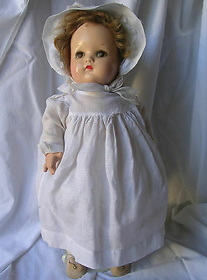 "1940's VINTAGE 17"" MADAME ALEXANDER BABY McGUFFEY DOLL COMPOSITION & CLOTH TLC"