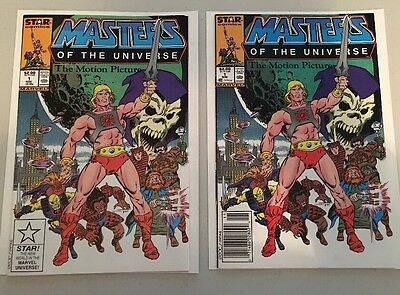 Masters Of The Universe MOTU Motion Picture Comic #1 Issue RARE & HTF! CGA ?