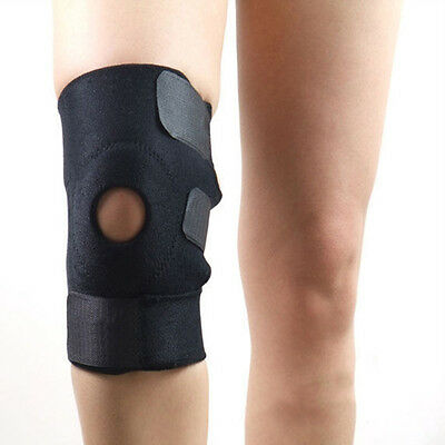 Adjustable Sports Leg Knee Support Brace Wrap Safety Protector Pads Sleeve Cap