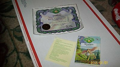 Cabbage Patch Kids Tru Girls Birth Cert And Name Tag