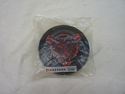 Vintage Firestone Nos Tire Ashtray