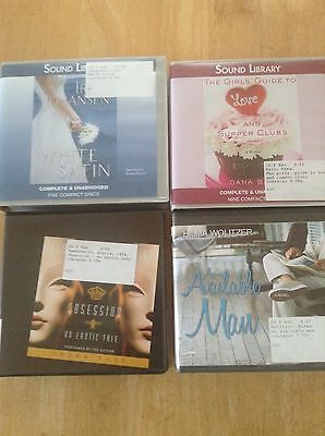 Audio Books - Lot of 4 -  ex library