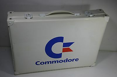 Extremely Rare Vintage Commodore Computers Promotional Brief or Carry Case 80's