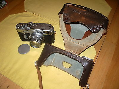 LEICA M-3 Double stroke with Summicron 5cm 1.2 complete outfit, reduced price.