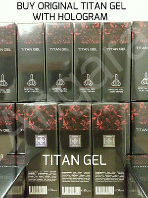 12x50 ml TITAN GEL INTIMATE LUBRICANT GEL FOR MEN . GUARANTEED ORIGINAL