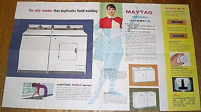 1950s Advertising Brochure for the New MAYTAG ALL-FABRIC AUTOMATIC