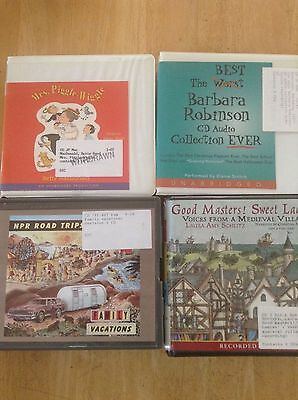 Audio Books - Lot of 4 - Children / Young Adults - ex library