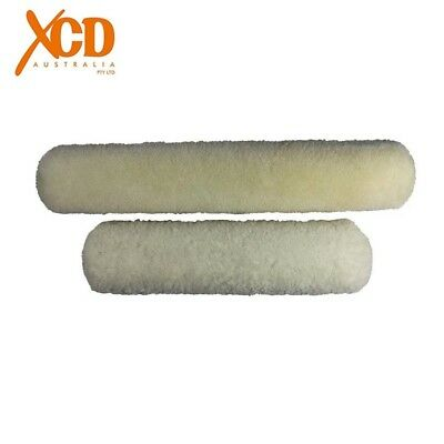 XCD Sheepskin Roller Covers 15mm Nap Paint Painting Roller