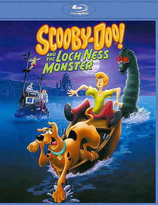 NEW BLU-RAY// SCOOBY DOO and the LOCH NESS MONSTER -  ENGLISH, FRENCH , SPANISH