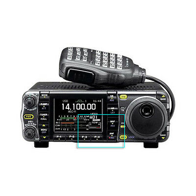 Crystal Clear Screen Protector for Icom IC-7000