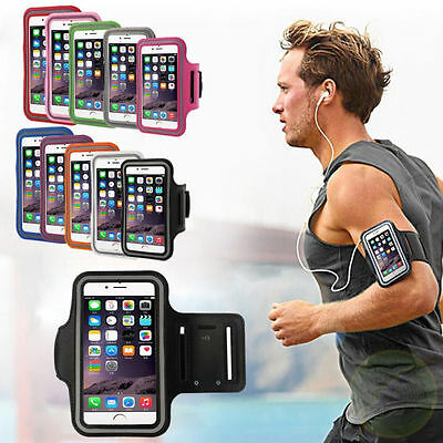 For iPhone 7 6S 6 Plus Sports Running Armband Case GYM Exercise Arm Band Holder