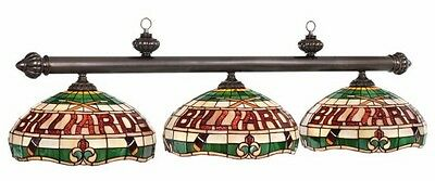 Pool Billiard Table Light Billiards Antique Gold & Sand Finish CF50-B56 CF50 B56