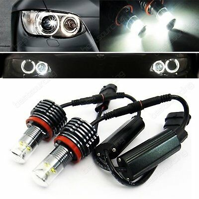60W Cree Led Standlicht Ring H8 Marker Angel Eyes Bmw E60 E61 E92 E88 E90 E70 X6