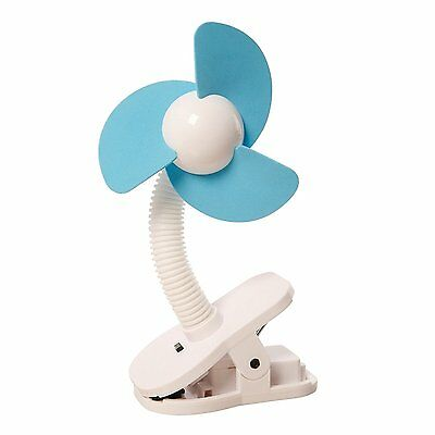 Dreambaby Child Baby Clip On Stroller Fan For Cribs, Playpens Prams - Blue