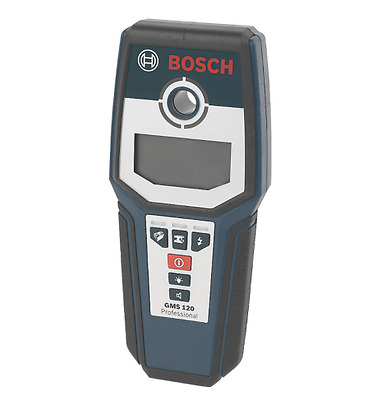 New Bosch GMS120 Professional Wall Scanner Multi Stud Metal Live Wire Detector