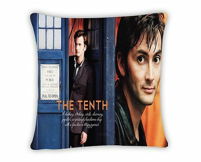 Doctor Who Tardis 11 Doctors Throw Pillow Cushion Case Cover Home Decor Zippered