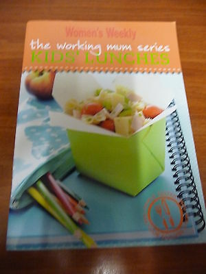 Womens Weekly mini cookbooks WORKING MUMS SERIES Kids Lunches EUC