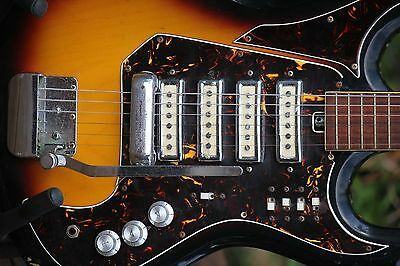 old 60s electric guitar Teisco Japan
