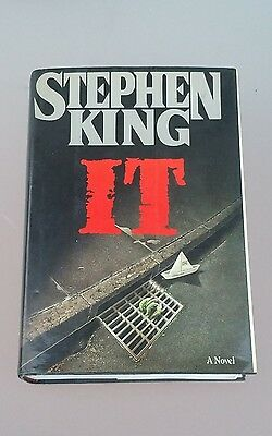 IT by Stephen King 1986 Hardcover First Edition HC