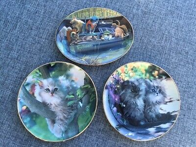 Franklin Mint Collector Plates  X  3