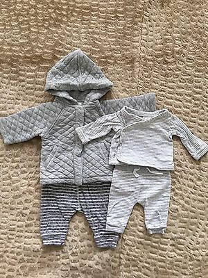 Country Road Unisex Newborn Baby Winter Outfit Size 0000