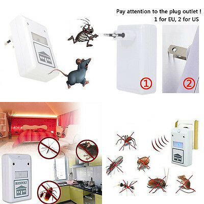 Fashion Household Electronic Product Ultrasonic Wave Mosquito Repel Dispeller WF