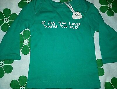 @@ Cotton On Baby Long Sleeve Top Size 00 - New @@