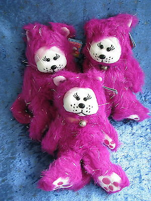 Beanie Kids - Sparkleigh The Cat - Bk 989 - Common Uncommon Rare Pink Purple Paw