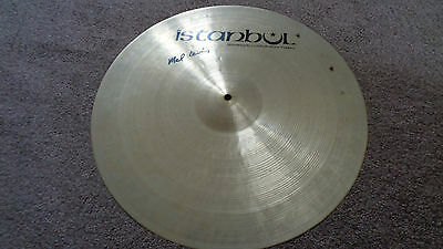 """Jimi Hendrix Experience  Mitch Mitchell Owned / Used 21"""" Istanbul Cymbal"""