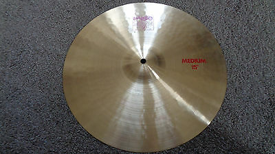 """Jimi Hendrix Experience / Mitch Mitchell Owned And Used Paiste 15"""" 2002 Cymbal"""