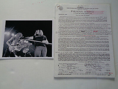 Lynyrd Skynyrd Original 1975 Concert Contracts 70+To Choose See Full List Here