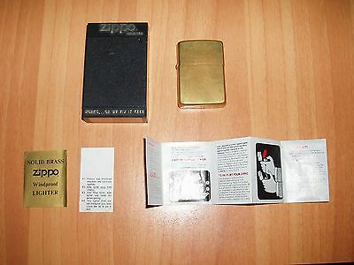 Zippo 55Th Anniversary 1932-1987 Works......or We Fix It Free