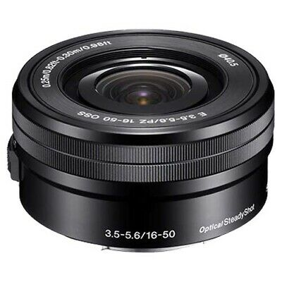 Sony E PZ 16-50mm F3.5-5.6 OSS Lens (SELP1650) with GEN SONY WARR