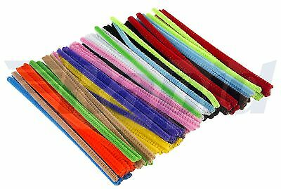 RVFM Coloured Pipe Cleaners 15cm - Pack of 100