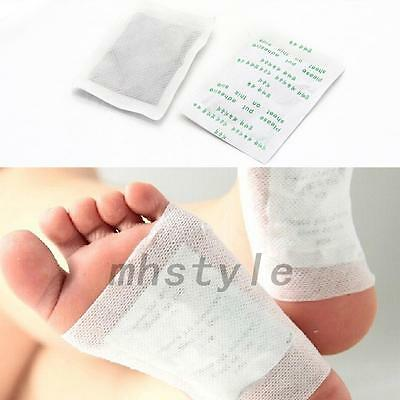Hot 10PCS Detox Foot Pads Patch Detoxify Toxin Adhesive Fit Health Care