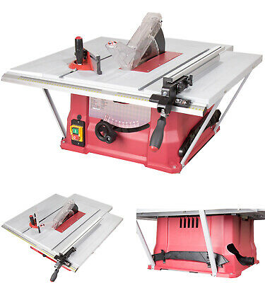 Lumberjack TS254EL 10 Inch Bench Table Saw 250mm with 3 Extension and TCT Bla...